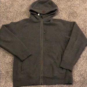 Lululemon men's dark grey hoodie